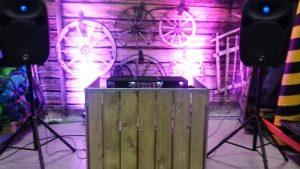 Toogsysteem als DJ booth
