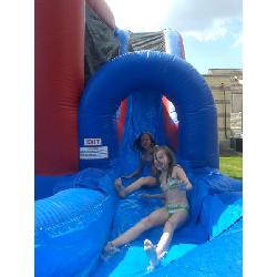Jump 'N' Splash Castle Nat/Wet