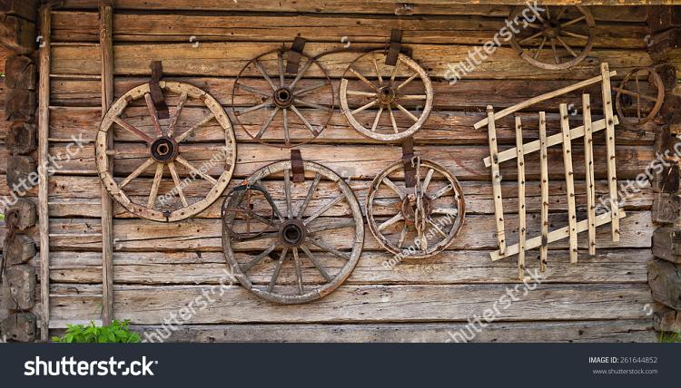 Western spandoek Oude Wand